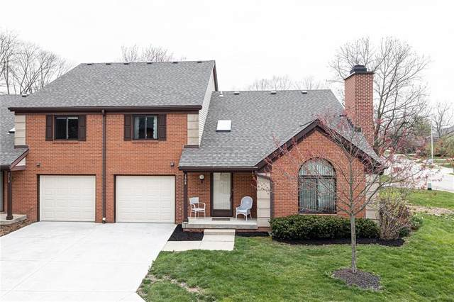 2308 Golden Oaks N, Indianapolis, IN 46260 (MLS #21703650) :: HergGroup Indianapolis