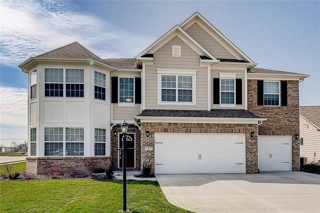 6432 Silver Leaf Drive, Zionsville, IN 46077 (MLS #21703676) :: The Indy Property Source