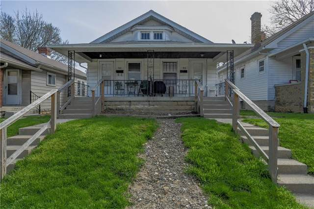 913-915 N Drexel Avenue, Indianapolis, IN 46201 (MLS #21703810) :: The Indy Property Source