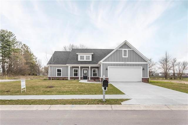 4575 W Meadows Lane, New Palestine, IN 46163 (MLS #21703876) :: The Indy Property Source