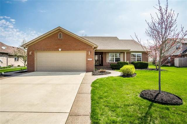 3571 S Cedar Creek Lane, New Palestine, IN 46163 (MLS #21704011) :: The Indy Property Source