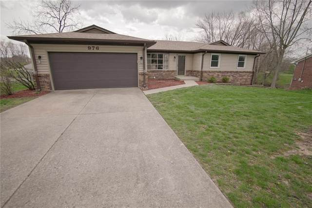 976 Santa Maria Drive, Greenwood, IN 46143 (MLS #21704023) :: The Indy Property Source
