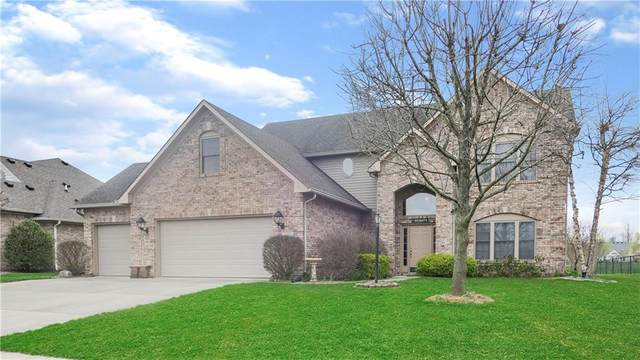 7227 Sunset Point Drive, Indianapolis, IN 46259 (MLS #21704062) :: AR/haus Group Realty