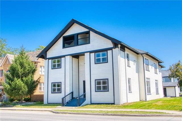 1701 College Avenue #4, Indianapolis, IN 46202 (MLS #21704166) :: AR/haus Group Realty