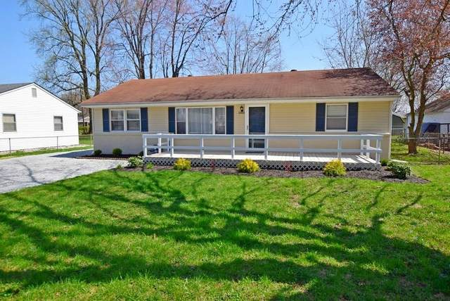 3318 Canaday Drive, Anderson, IN 46013 (MLS #21704336) :: The ORR Home Selling Team