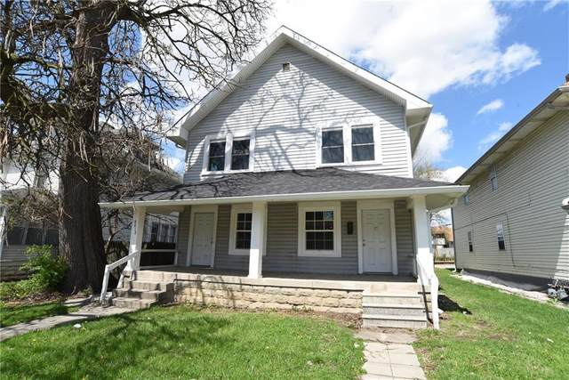 4818 E Washington Street, Indianapolis, IN 46201 (MLS #21704696) :: The Indy Property Source