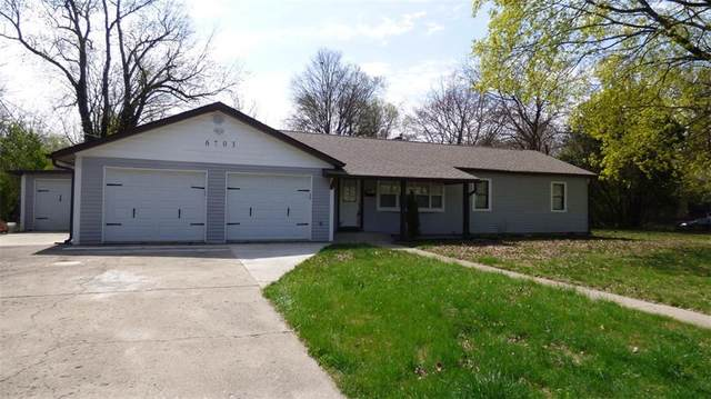 6703 Riverview Drive, Indianapolis, IN 46220 (MLS #21704698) :: Anthony Robinson & AMR Real Estate Group LLC