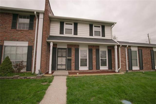 4929 Mount Vernon Drive, Indianapolis, IN 46227 (MLS #21705015) :: The ORR Home Selling Team