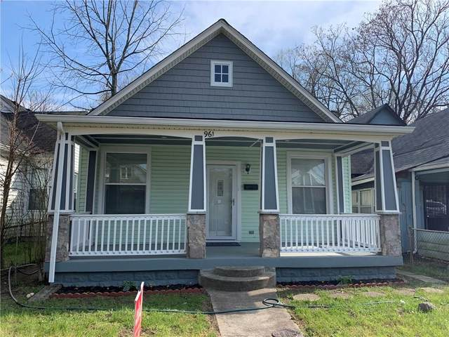 961 W Roache Street, Indianapolis, IN 46208 (MLS #21705348) :: The Indy Property Source