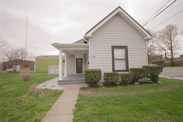 199 W Pearl Street, Greenwood, IN 46142 (MLS #21705381) :: The ORR Home Selling Team