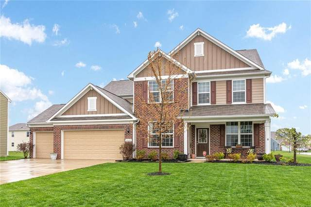 14680 Hinton Drive, Fishers, IN 46037 (MLS #21705400) :: Heard Real Estate Team | eXp Realty, LLC