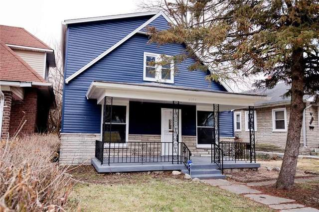 4029 Byram Avenue, Indianapolis, IN 46208 (MLS #21705474) :: The Evelo Team