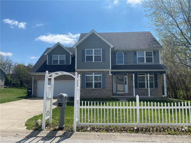 1050 Deer Field Drive, Greencastle, IN 46135 (MLS #21705741) :: Anthony Robinson & AMR Real Estate Group LLC