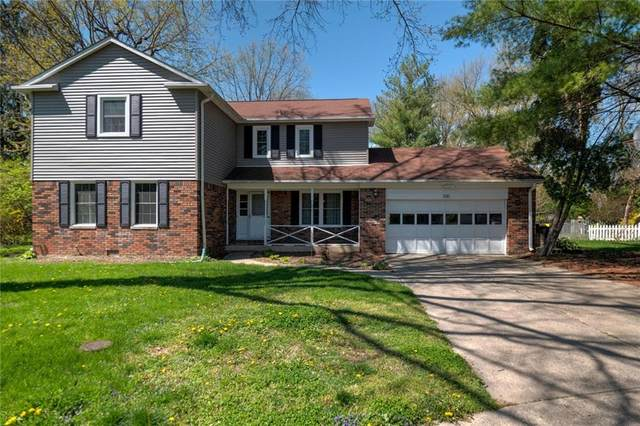 1110 Kings Court, Indianapolis, IN 46260 (MLS #21705851) :: The Indy Property Source