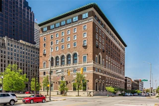 350 N Meridian Street #804, Indianapolis, IN 46204 (MLS #21706109) :: AR/haus Group Realty
