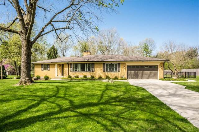 7980 Meadowbrook Drive, Indianapolis, IN 46240 (MLS #21706358) :: The ORR Home Selling Team