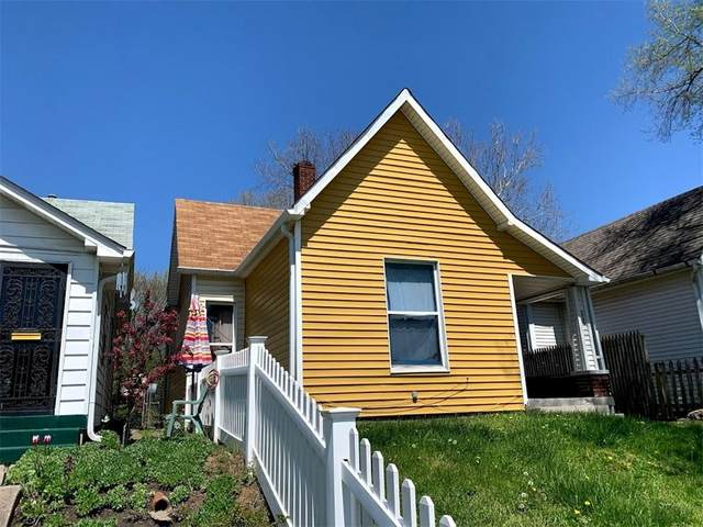 806 W 27th Street, Indianapolis, IN 46208 (MLS #21706424) :: The Indy Property Source