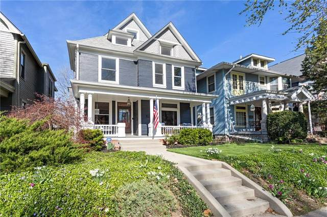 1930 N New Jersey Street, Indianapolis, IN 46202 (MLS #21706977) :: AR/haus Group Realty