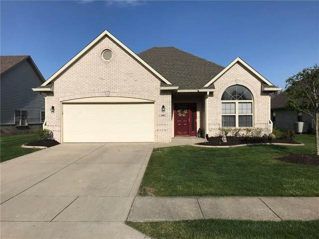 847 Fairfield Drive, Greenfield, IN 46140 (MLS #21707009) :: The Indy Property Source