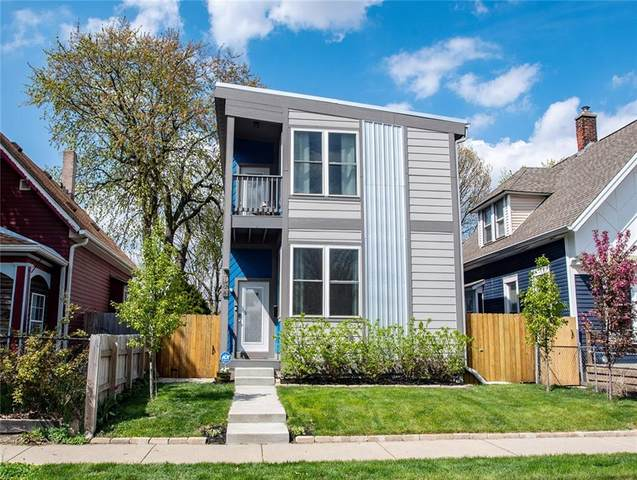 1814 Lexington Avenue, Indianapolis, IN 46203 (MLS #21707142) :: AR/haus Group Realty
