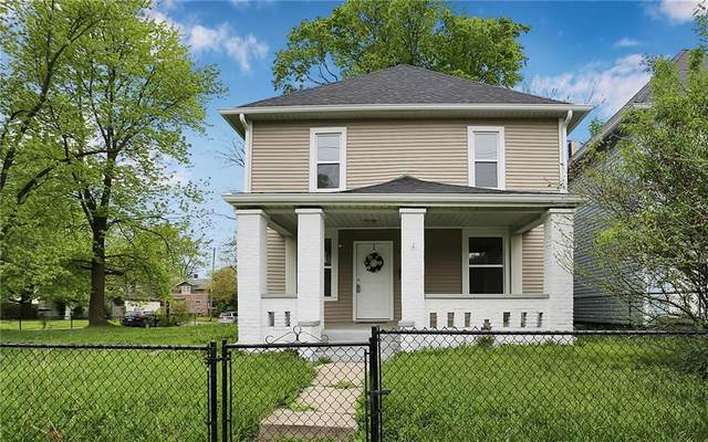 1108 N Rural Street, Indianapolis, IN 46201 (MLS #21707161) :: The Indy Property Source