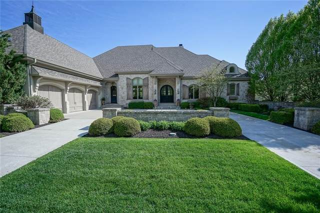 15853 Bridgewater Club Boulevard, Carmel, IN 46033 (MLS #21707245) :: AR/haus Group Realty