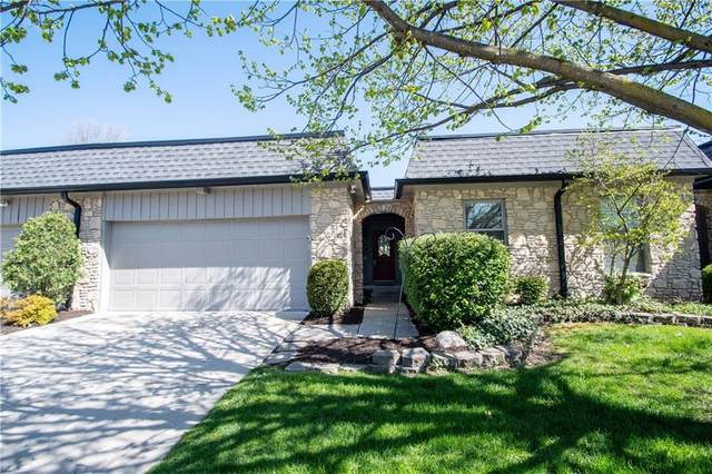 1050 Carters Grove, Indianapolis, IN 46260 (MLS #21707306) :: The Indy Property Source