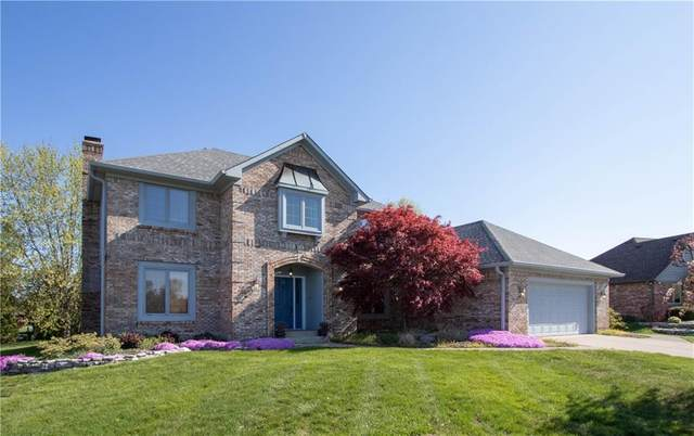 3858 Keyway Drive, Greenwood, IN 46143 (MLS #21707348) :: The Indy Property Source
