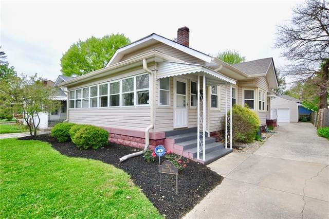 252 Berkley Road, Indianapolis, IN 46208 (MLS #21707391) :: The Indy Property Source