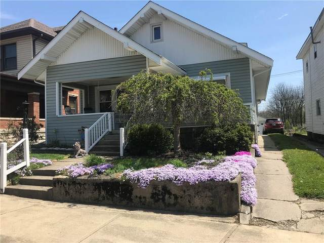 410 N Perkins Street, Rushville, IN 46173 (MLS #21707427) :: The Indy Property Source