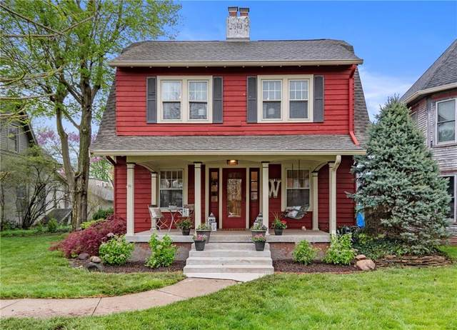114 Grant Street, Greenfield, IN 46140 (MLS #21707430) :: The Indy Property Source