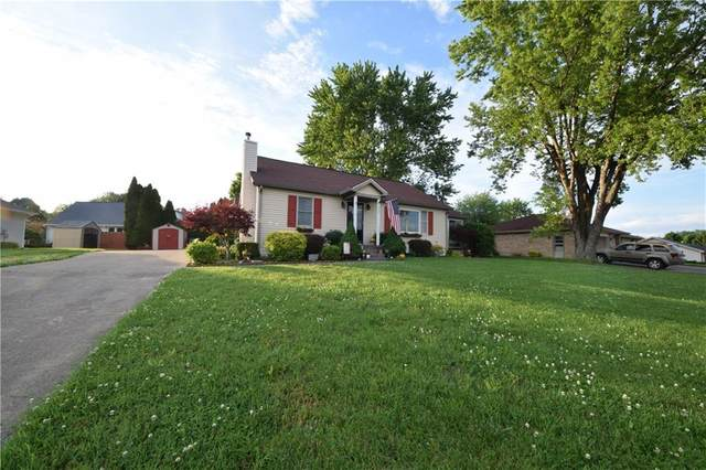 1482 W 2nd Street, Seymour, IN 47274 (MLS #21707437) :: Mike Price Realty Team - RE/MAX Centerstone