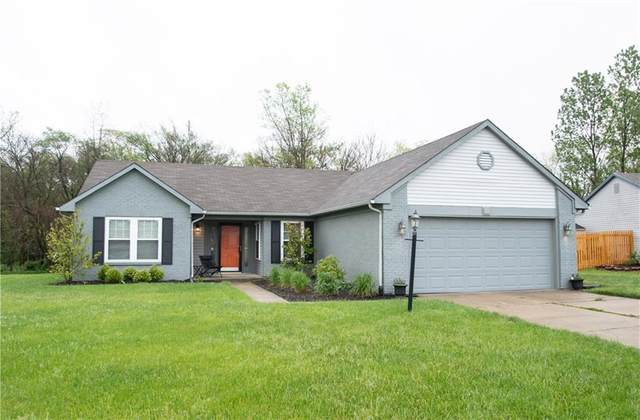 6731 Sextant Drive, Indianapolis, IN 46260 (MLS #21707498) :: The Indy Property Source