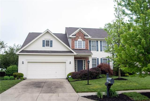 11936 Weathered Edge Drive, Fishers, IN 46037 (MLS #21707500) :: The Indy Property Source