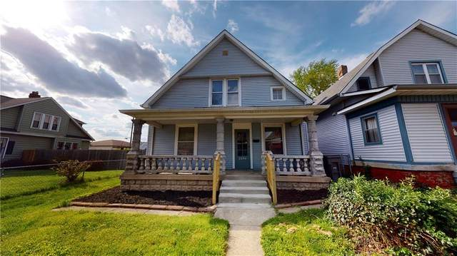 2254 Brookside Avenue, Indianapolis, IN 46218 (MLS #21707719) :: The Indy Property Source