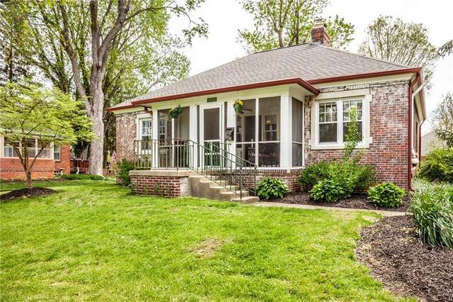 6517 Riverview Drive, Indianapolis, IN 46220 (MLS #21707890) :: The Indy Property Source