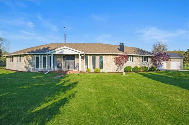 4625 S County Road 575 E, Selma, IN 47383 (MLS #21708144) :: The ORR Home Selling Team