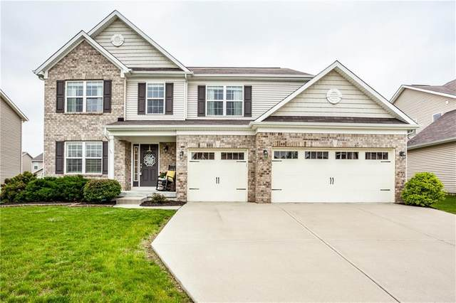 7826 Eagles Nest Boulevard, Zionsville, IN 46077 (MLS #21708179) :: The Evelo Team