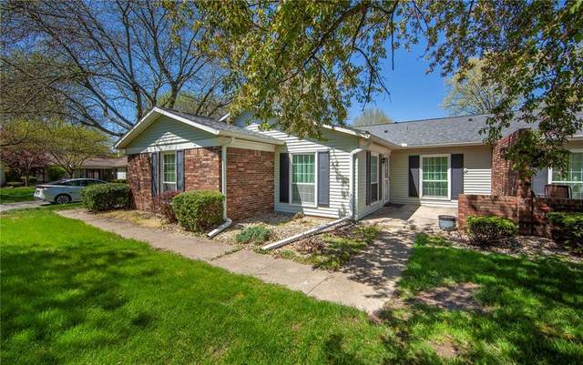 4506 Avon Drive, Anderson, IN 46013 (MLS #21708206) :: The ORR Home Selling Team