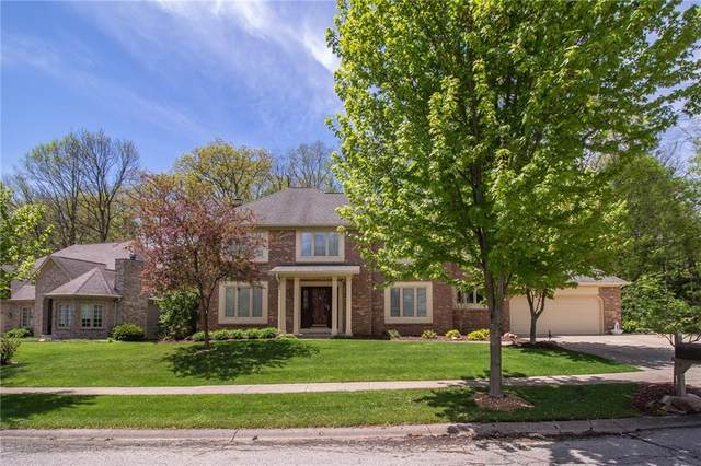 7372 Oakland Hills Drive, Indianapolis, IN 46236 (MLS #21708371) :: The Indy Property Source