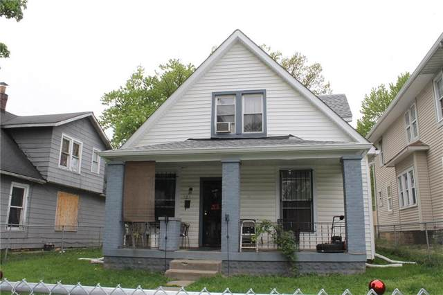 922 N Tuxedo Street, Indianapolis, IN 46201 (MLS #21708378) :: The Indy Property Source
