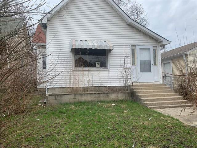 918 W 27th Street, Indianapolis, IN 46208 (MLS #21708428) :: The Indy Property Source