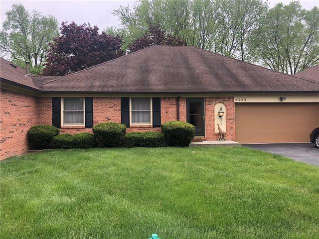 6223 Apache Drive, Indianapolis, IN 46254 (MLS #21708577) :: The ORR Home Selling Team