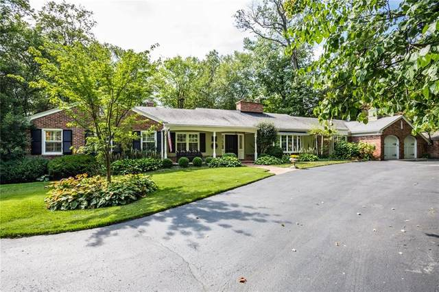 7777 Ridge Road, Indianapolis, IN 46240 (MLS #21708612) :: The Indy Property Source