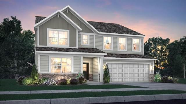 3412 Tina Court, Brownsburg, IN 46112 (MLS #21708726) :: The Indy Property Source
