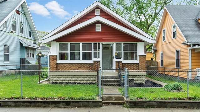109 N Linwood Avenue, Indianapolis, IN 46201 (MLS #21708770) :: The Indy Property Source