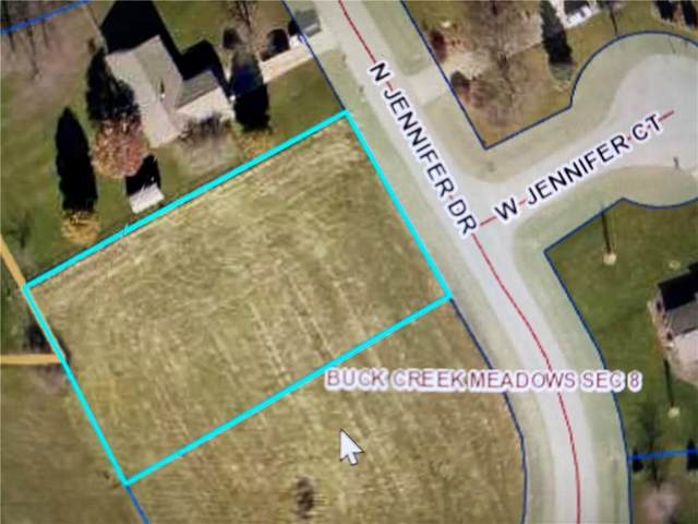 145 Jennifer Drive, Greenfield, IN 46140 (MLS #21708809) :: The Indy Property Source