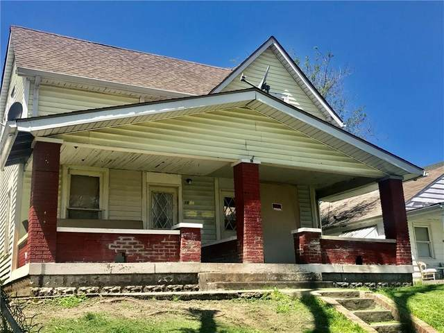 1614 Ringgold Avenue, Indianapolis, IN 46203 (MLS #21708821) :: The Indy Property Source