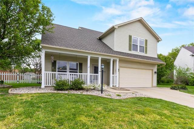 1340 Round Lake Road, Greenwood, IN 46143 (MLS #21708862) :: Anthony Robinson & AMR Real Estate Group LLC