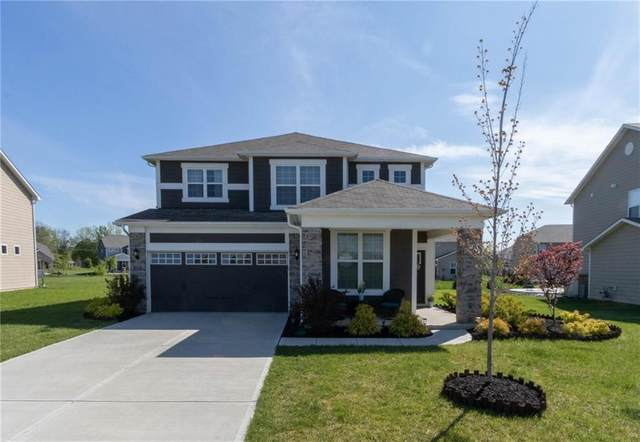 13579 Eastpark Circle E, Fishers, IN 46037 (MLS #21708878) :: AR/haus Group Realty